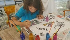 Çanakkale Çocuk Kültür Evinde Troya Masalı projesi başladı