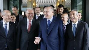 ek fotoğraflar // Cumhurbaşkanı Erdoğan İBByi ziyaret etti