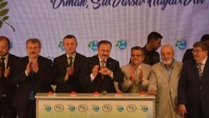Bakan Eroğlu: İçme ve sulama suyuyla ilgili problemimiz yok