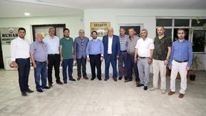 Aksaray Belediye Başkanı, minibüsçülerle iftarda buluştu