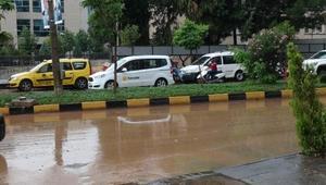 Kiliste şiddetli yağış etkili oldu