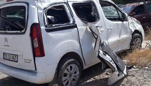 Cenazeyi almaya giderken kaza yaptılar: 3 kuzen öldü, 2 yaralı