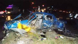 6 kişinin öldüğü kazada yaralanan otomobil sürücüsü tutuklandı