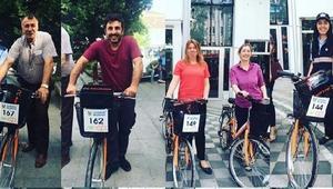 Belediye hizmetlerinde bisikletli dönem