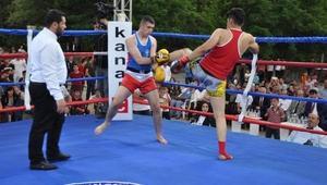 Bitlis'te 15 Temmuz şehidi Ayabakın anısına Muay Thai turnuvası