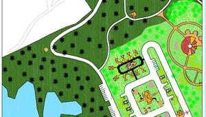 Damsa Barajına park ve rekreasyon projesi