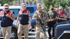 Viranşehirde terör propagandasına 1 tutuklama/ Fotoğraflar