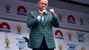 Fotoğraflar// Cumhurbaşkanı Erdoğan Beylikdüzünde konuştu