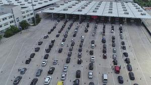 Kapıkule'den bir günde 35 bin araç geçti