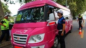 Yalova'da klimasını çalıştırmayan minibüse ceza geliyor