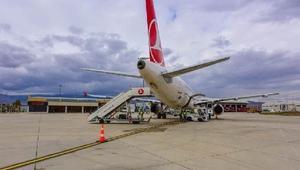 2018 yılı ilk 7 ayda Merzifon Havalimanı'ndan 110 bin yolcu hizmet aldı