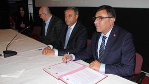 MAKÜde çiğ süt analizi protokolü imzalandı