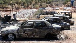 PKKnın saldırdığı şantiyedeki hasar gündüz ortaya çıktı