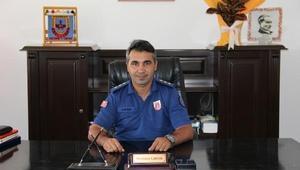 Dinar İlçe Jandarma Komutanı göreve başladı