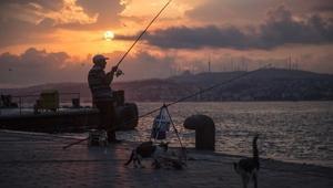 Fotoğraflar// İstanbulda gün doğumu büyüledi