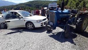 Kastamonuda trafik kazası: 1 ölü, 2 yaralı