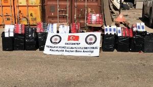 Gaziantepte kaçak sigara operasyonu: 2 gözaltı