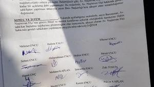 Uludereli aileler, Baro Başkanı Av. Elçiyi, baroya şikayet etti