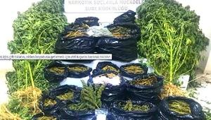Gaziantepte uyuşturucuya 4 gözaltı
