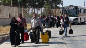 Bayrama için ülkelerine giden 15 bin Suriyeli döndü