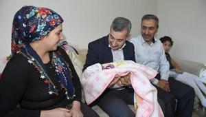 Yeşilyurtta 11 bin 600 bebek ziyaret edildi
