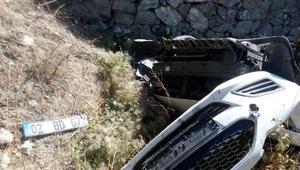 Malatyada otomobil devrildi: 1 yaralı