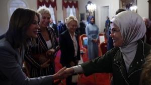 Emine Erdoğan Bezmialem Valide Sultan söyleşine katıldı