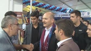 İçişleri Bakanı Soylu Yenikapıda düzenlenen Trabzon Günlerine katıldı