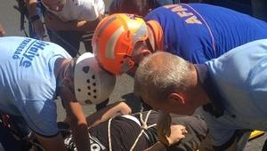 Tekirdağda yamaç paraşütü kazası: 1 yaralı