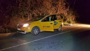 Sapancada taksici aracının yanında ölü bulundu