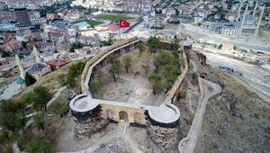 Nevşehir Kalesindeki kazı çalışmaları tamamlandı