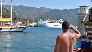 Marmarise denizden 230 Lübnanlı turist