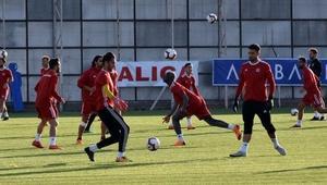 Demir Grup Sivasspor, Bursaspor hazırlıklarını sürdürdü