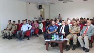 Toprakkalede Okul Güvenliği konulu seminer