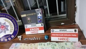 Aksarayda uyuşturucu operasyonu: 1 kişi tutuklandı