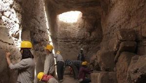 Zerzevanda 1500 yıllık yeraltı sığınağında kazılar bitti, sıra Kuzey Kulede