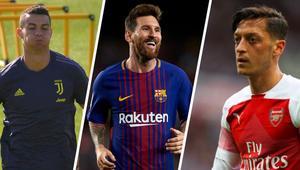 Messi'yi de Ronaldo'yu da geçti