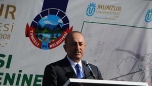 Bakan Çavuşoğlu: Sadece dağda teröristle mücadele yetmez