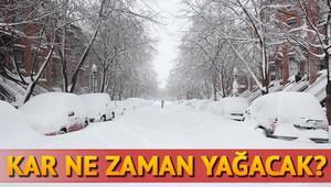 Kar ne zaman yağacak Meteorolojiden 14 Kasım uyarısı