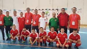 Down Sendromlu Futsal A Milli Takımı, İtalyayı devirdi