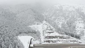 Sinop'a mevsiminin ilk karı yağdı