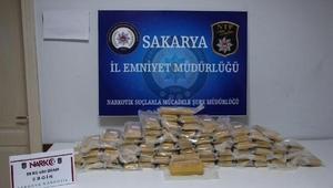 Sakaryada 2 milyon lira değerinde eroin ele geçirildi