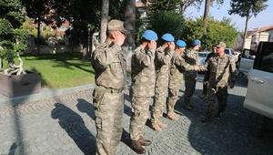 2. Ordu Komutanı Temel 'den Vali Doğan'a ziyaret