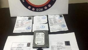 Sahte izin belgesine suçüstü