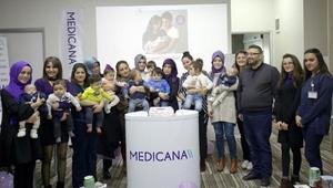 Prematüre bebekler Erken Gelen Mutluluk etkinliğinde buluştu