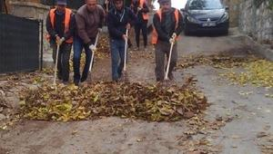 Belediyeden hummalı temizlik çalışması
