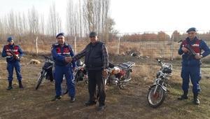 Jandarmadan motosiklet hırsızlarına operasyon