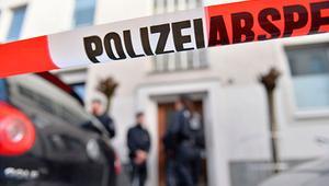 Bıçaklı saldırgan Nürnberg'de polisi alarma geçirdi