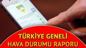İstanbul Ankara İzmir hava durumu | Hafta sonu hava nasıl olacak