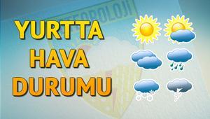 Hava durumu için son dakika bilgileri...Bu bölgeler için uyarı verildi